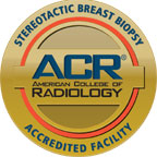 RMI is an accredited facility for Stereotactic Breast Biopsy.